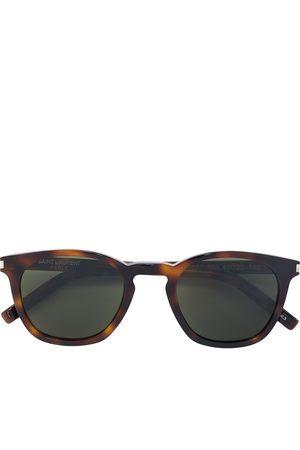 Saint Laurent Eyewear D-frame tortoiseshell sunglasses
