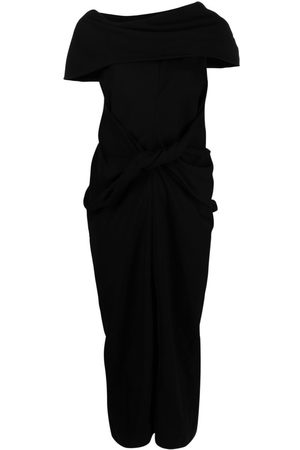AMBUSH Senhora Vestidos Assimétricos - Asymmetric mid-length dress