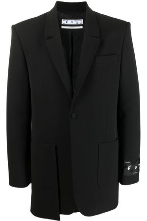 OFF-WHITE Pocket-detail blazer