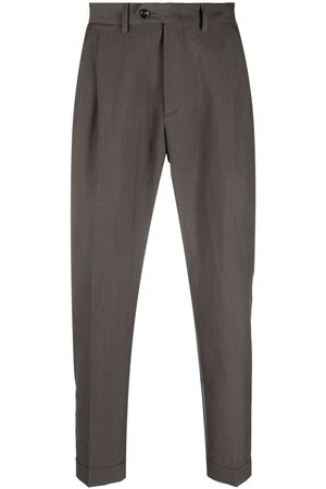 DELL'OGLIO Homem Calças Formal - Cropped tailored trousers