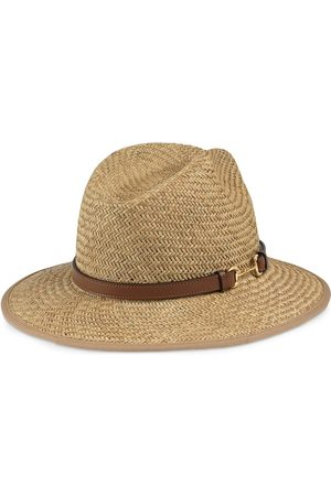 Gucci Horsebit detail straw hat