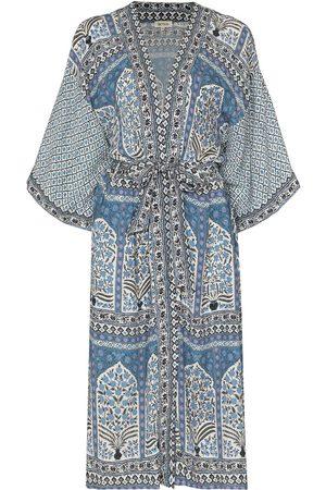 BOTEH Arch floral-print beach robe
