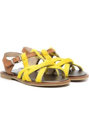 PèPè Menina Sandálias - Pony-fur strap sandals