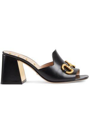 Gucci Senhora Sandálias - Horsebit mule sandals