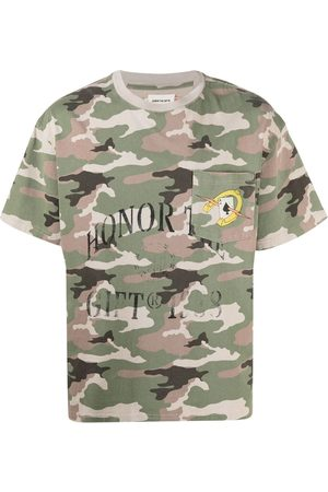 HONOR THE GIFT Logo camouflage print T-shirt