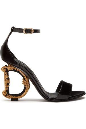 Dolce & Gabbana Senhora Sandálias - Baroque calfskin sandals