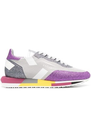 Ghoud Glitter-panel trainers