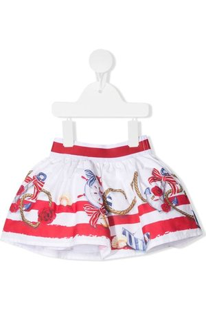 Monnalisa Anchor print mini skirt