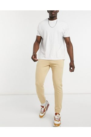 New Look Homem Joggers - Co-ord joggers in stone-Neutral