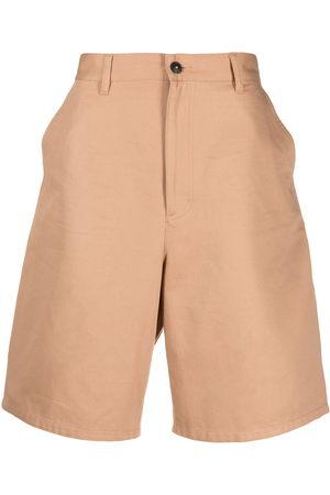 AMI Paris Mid-rise denim shorts