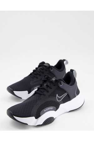 Nike Training SuperRep Go 2 trainers in black with white