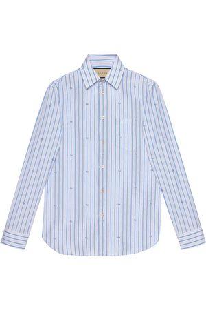 Gucci Monogram-print long-sleeve shirt