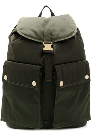 PORTER Olive Nylon Back Pack
