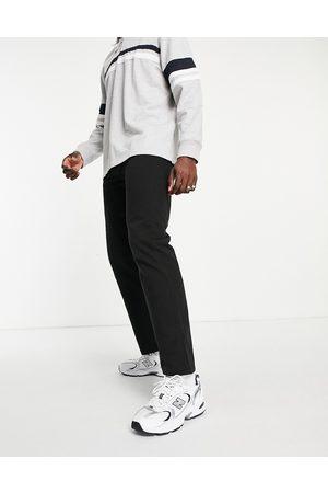 Weekday Homem Calças - Space Washed Trousers Black