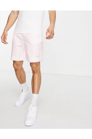 Mennace Homem Calções - Contrast stripe shorts in sateen pink