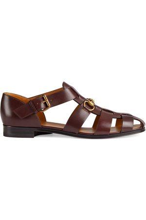 Gucci Homem Sandálias - Horsebit fisherman sandals