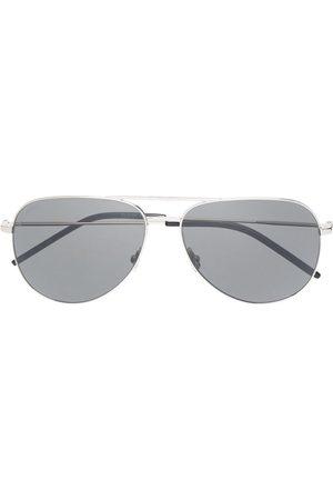 Saint Laurent Homem Óculos de Sol - Aviator-frame sunglasses