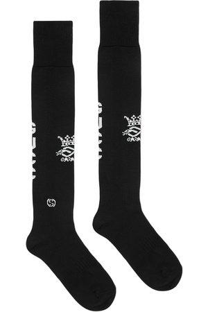 Gucci Intarsia-knit logo sports socks