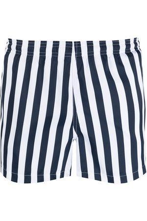 Ron Dorff Striped swim shorts