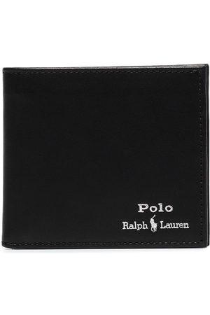 Polo Ralph Lauren Homem Bolsas & Carteiras - Logo-embroidered bifold wallet
