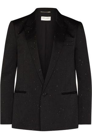 Saint Laurent Scratch-detail blazer