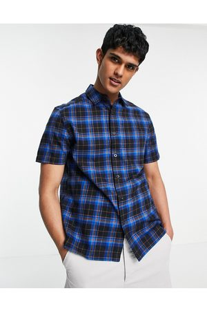 Topman Blue check shirt