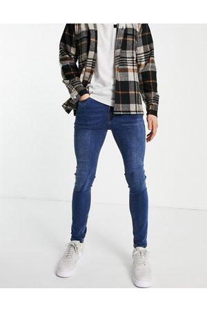 New Look Homem Jeans - Super skinny jeans in mid blue