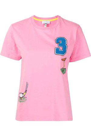 Mira Mikati Golf embroidered T-shirt