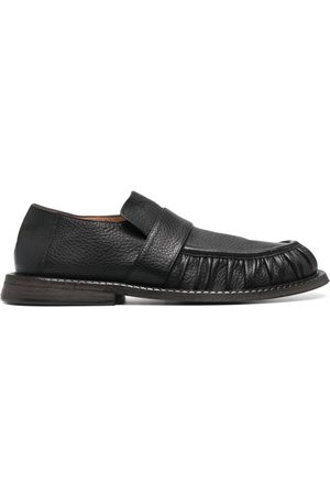 MARSÈLL Homem Oxford & Moccassins - Alluce grained leather loafers