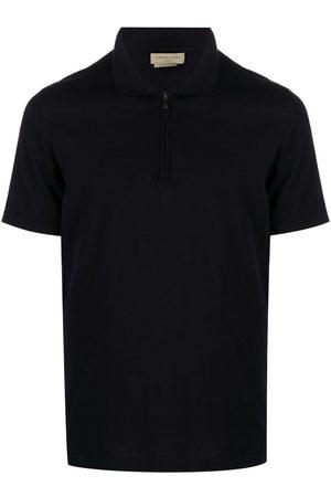 corneliani Homem Formal - Zipped cotton polo shirt