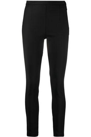 Patrizia Pepe Senhora Calças Formal - Side-fastened cigarette trousers
