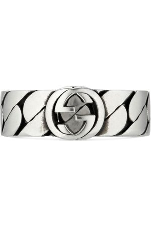 Gucci Homem Anéis - Interlocking G wide ring