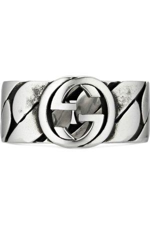 Gucci Homem Anéis - Interlocking G ring