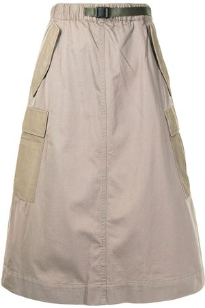 Izzue High-waisted midi skirt
