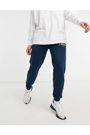 Mennace Club est joggers in blue-Purple
