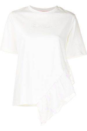 BAPY BY *A BATHING APE® Senhora T-shirts - Embroidered-logo cotton T-shirt