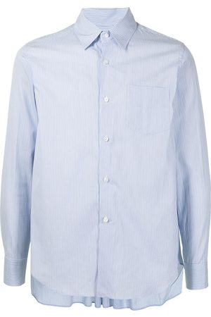 Fumito Ganryu Homem Formal - Pleated-back shirt