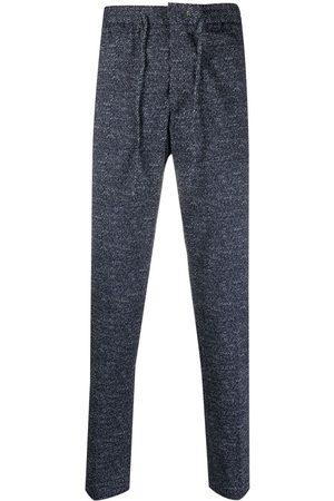 Manuel Ritz Homem Calças Justas - Slim-fit marl track pants