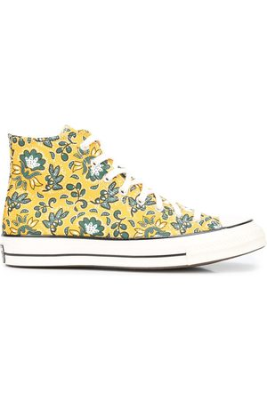 Converse Floral-print high-top sneakers