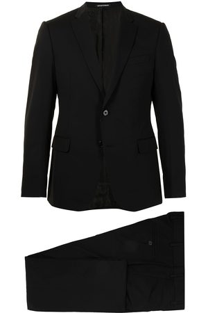 Emporio Armani Fitted single-breasted suit