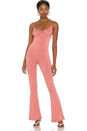 Lovers + Friends Archie Jumpsuit in - Rose. Size M (also in XXS, XS, S, XL).