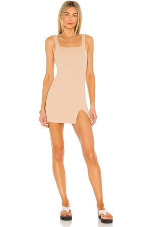 BB Senhora Vestidos de Malha - Knit's All Good Dress in - Tan. Size L (also in S, XS, M).
