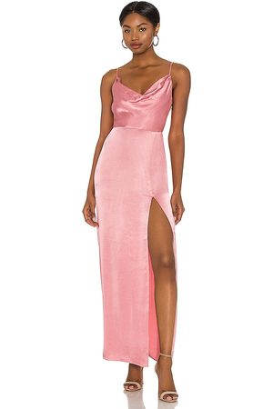 NBD Lila Gown in - Rose. Size L (also in XS, S, M, XL).