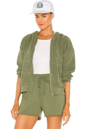 ATM Anthony Thomas Melillo French Terry Pull Over Hoodie in - Green. Size L (also in XS, S, M).