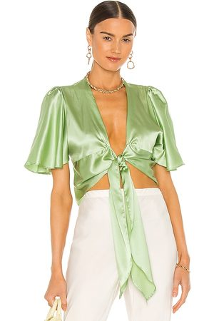 Silk Roads by Adriana Iglesias Lanna Blouse in - . Size L (also in XS, S, M).