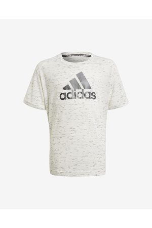 adidas Future Icons Kids T-shirt White