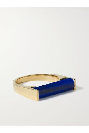 LUIS MORAIS Homem Anéis - 14-Karat Gold and Lapis Lazuli Ring