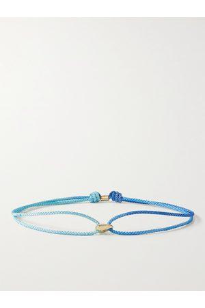 LUIS MORAIS Homem Pulseiras - 14-Karat Gold and Cord Bracelet
