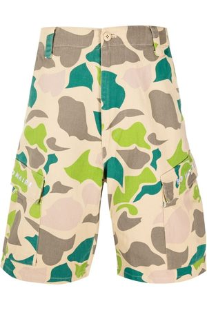 Billionaire Boys Club Camouflage-print cargo shorts