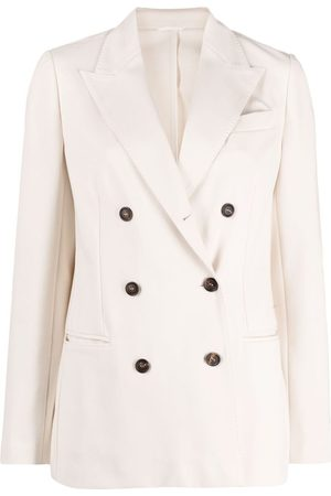 Brunello Cucinelli Double-breasted peacoat